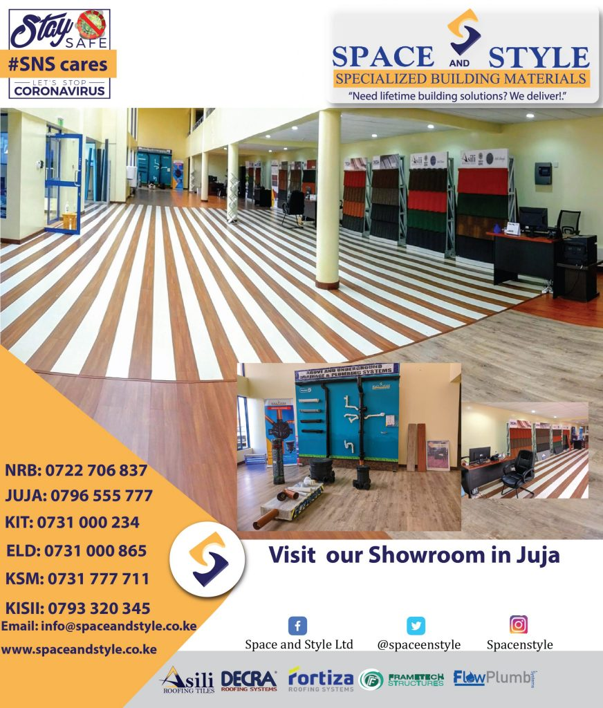 space and style covid 19 response roofing in kenya