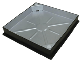 580 x 580 Square to Round Access Cover: DS65